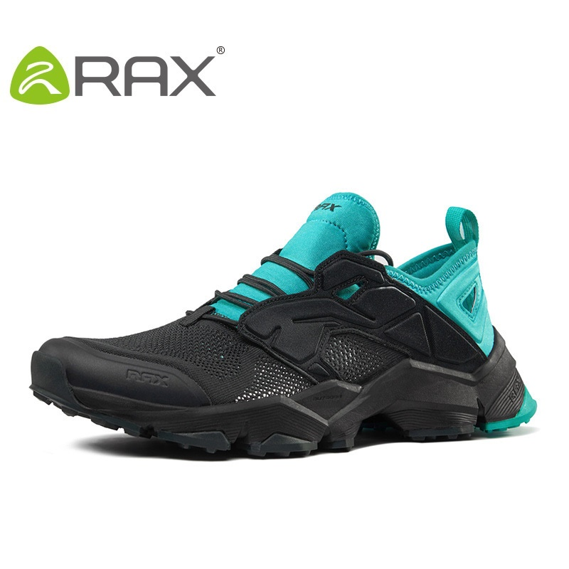 Rax Women Hiking Shoes Men Walking Shoes Breathable Footwear Anti - Slip Outdoor Lovers Climbing Shoes B2803 esdy esdy44 2 anti slip breathable outdoor climbing mountaineering hiking athletic shoes 44