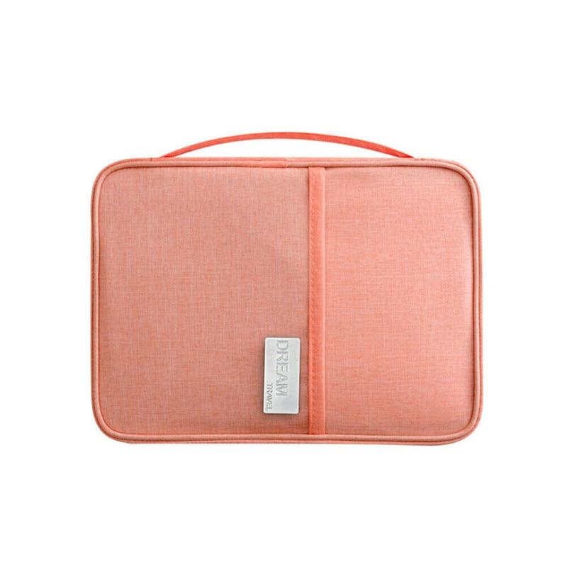 Fashion New Travel Passport Organziers Bags Travel Wallet Family Passport Holder Creative Waterproof Document Case Organizer Bag