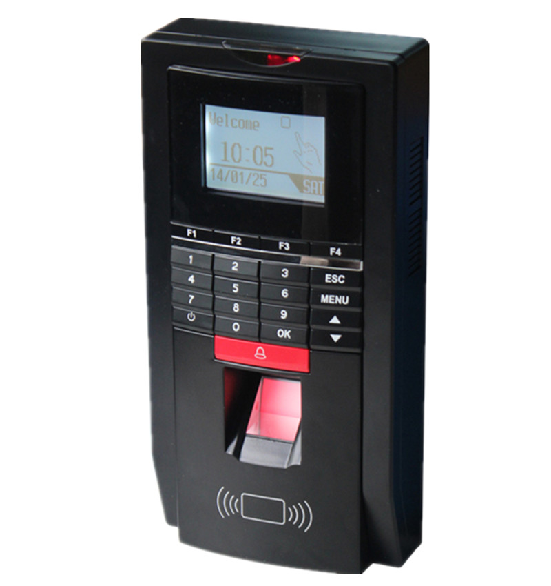 ZD2F20 Biometric Fingerprint Attendance Time Clock And Access Control With TCP/IP + 125Khz EM ID Card 125khz proximity rfid card time attendance 125khz em card time clock with tcp ip