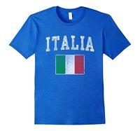 Vintage Italia Italien Drapeau Italie Chemise
