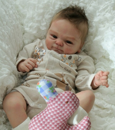 Reborn Doll Supply Cloth Body for 22inch Newborn Baby Doll DIY Accessory