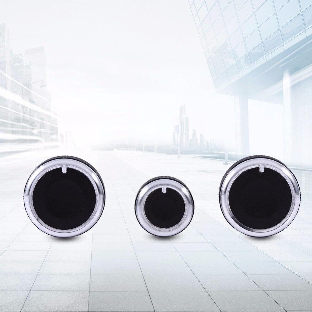 Heater Dash A/C Switch Knobs Black Control Buttons For VW Golf MK4 Passat B5 Bora Control Knob Button Control Knob