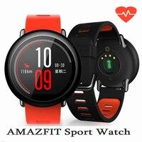 Xiaomi Amazfit Smart Sport Watch 1 34 InchTouch Screen GPS Record Zirconia Ceramics Heart Rate Monitor