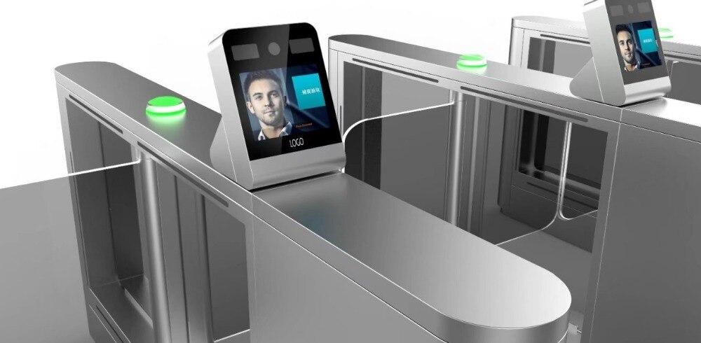Présence sûre d'enregistrement de temps d'entrée/sortie d'entrée avec empreinte digitale/identification de reconnaissance faciale/lecteur de passportr/scanner de code barres