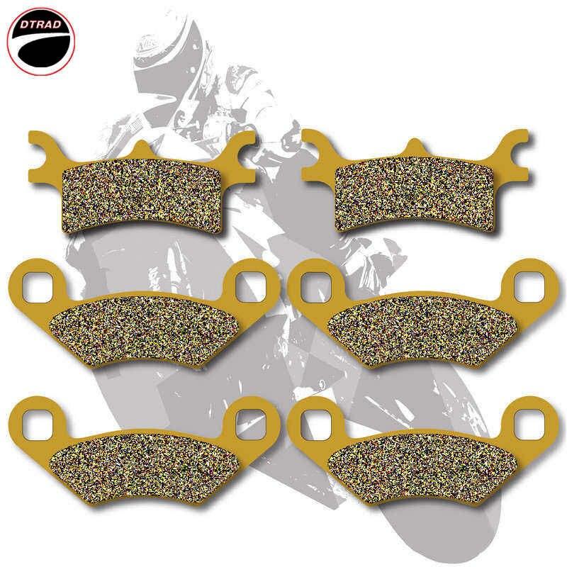 2010 2011 2012 Polaris 500 Scrambler 4X4 Rear Brake Rotor Disc and Brake Pad