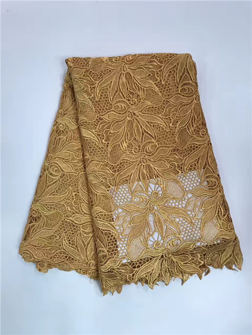 New Arrival African Lace Fabrics High Quality pure Color Cord Lace Guipure Lace Fabric For Party DressNew Arrival African Lace Fabrics High Quality pure Color Cord Lace Guipure Lace Fabric For Party Dress