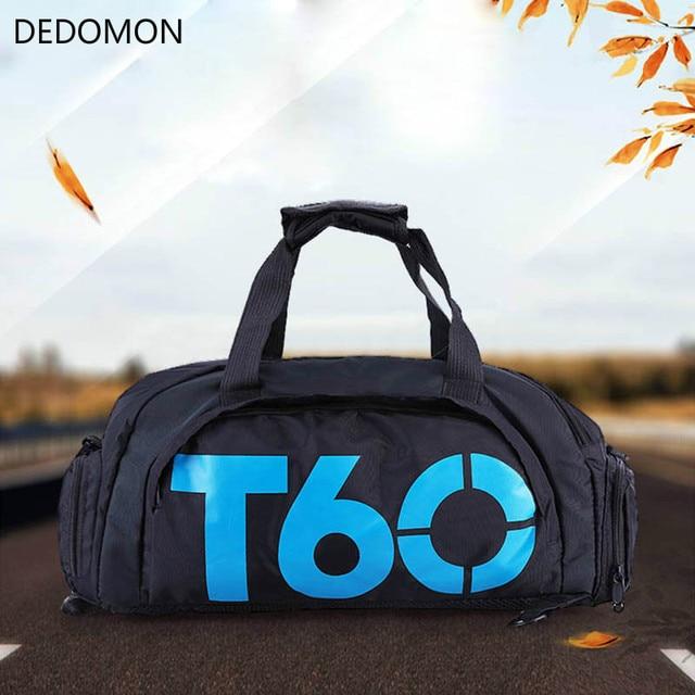 9e87923511 T60 Waterproof Gym Sports Bags Men Women molle Fitness Training Backpacks  Multifunctional Travel Luggage bolsa Shoulder Handbags