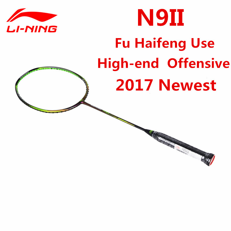 Li-Ning Badminton Racket Fu Haifeng Sudiman Cup Li Ning Racquet N9II Streamer Green Lining AYPM026-1 L709OLC стоимость