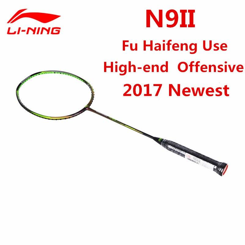 Raquette de Badminton li-ning Fu Haifeng Sudiman coupe Li Ning raquette N9II Streamer vert doublure AYPM026-1 L709OLC
