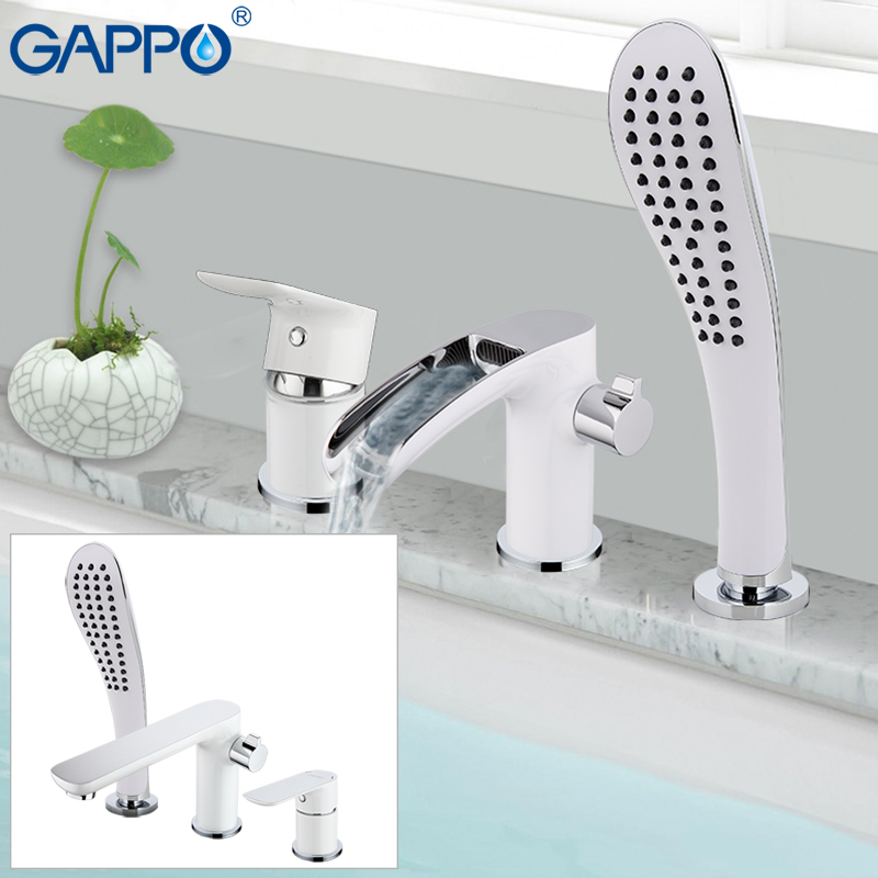 GAPPO baignoire robinet de bain douche Salle De Bains Douche robinet tap cascade robinet de bain douche système robinet banheira robinet GA1148-8