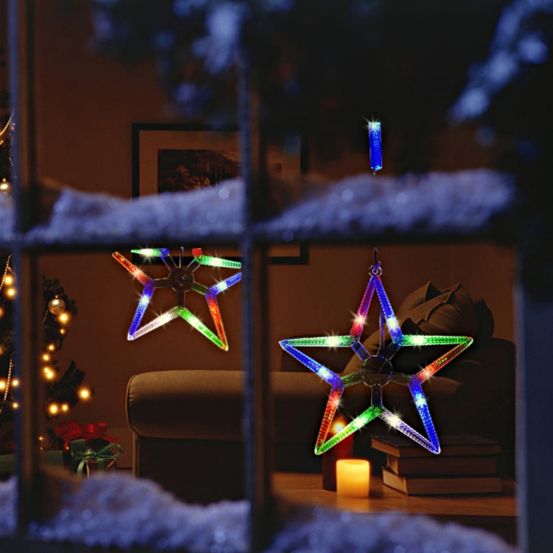 New LED 5 Warm Colors 12 Twinkling Stars Christmas Party Favor gift Fairy String Light Party supplies