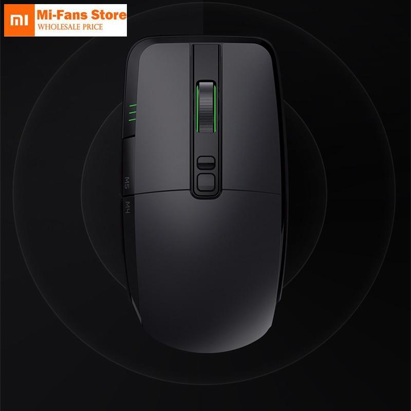 Original Xiaomi game Mouse Portable wire Wireless 2 4GHz Dual Mode 7200DP 6 button RGB light