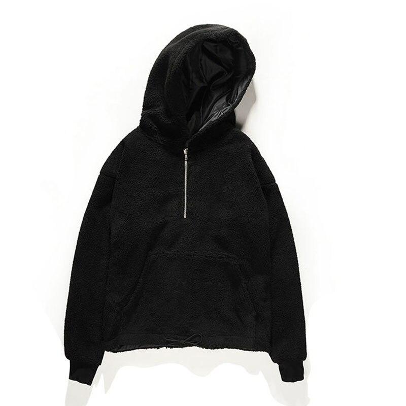 Au Shirts Peur Chaud Hommes Hoodies 1 Fermeture 18 De Éclair Dieu Femmes Mode La 1 À Demi Streetwear 1 2 Hiver Capuche E066wZ7qB