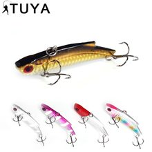 1 Piece Fishing Lure 9cm 28g Wobbler Lures Slow Floating Rocker Lifelike VIB Kit Sinking Bait 5 Colors