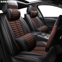 KOKOLOLEE Car seat covers for Ford All Model F 150 focus Explorer Mustang kuga ecosportcar mondeo fiesta styling