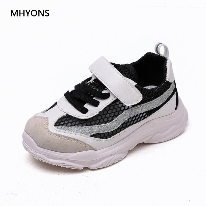 2018 spring new outdoor kid shoes chaussure white flat boys loafers girls school Non-slip platform shoes sneakers 1-15 years old
