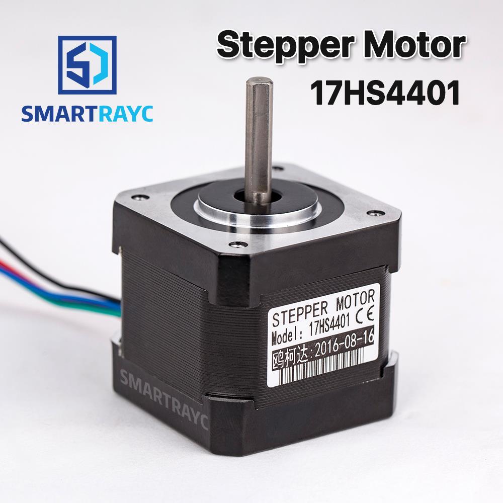 Smartrayc 1 pcs 4-lead Nema17 Stepper Motor 42 Nema 17 42BYGH (17HS4401) 40mm 1.7A 3D printer motor and CNC XYZ цена