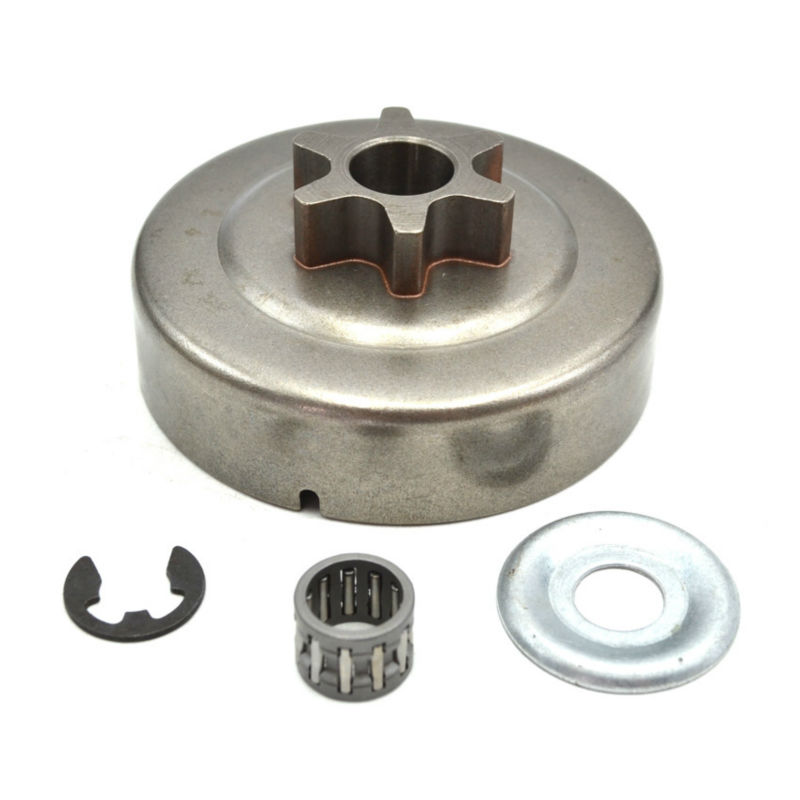 Chainsaw Clutch Drum Chain Sprocket 3/8 Picco 6T with Needle Bearing Wahser Circle for Stihl MS180 170 017 018 #11236402005