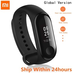 2018 Original Xiaomi Mi Band 3 Smart Band 0.78inch OLED Fitness Tracker Caller ID Weather Forecast Mi Band 2 Smart Ring IN STOCK