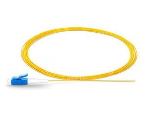 Image 3 - 1.5 m 50 pcs SC UPC Codino LC UPC in fibra della treccia G657A Treccia di fibra Simplex Modalità Singola Fibra Ottica Della Treccia 0.9 millimetri PVC