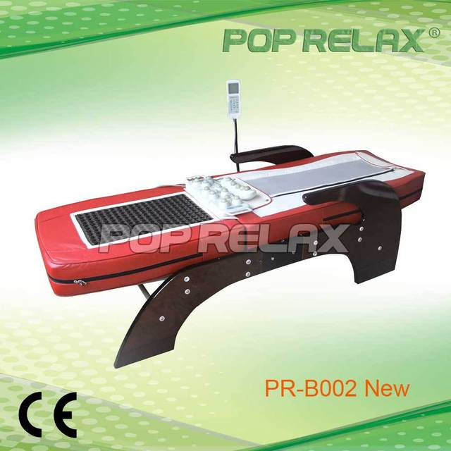 POP RELAX Thermal Jade roller Massage Bed half body rolling PR-B002 New CE ROHS