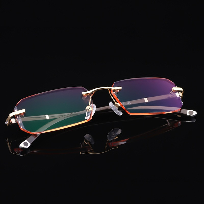 1.61 1.67 1.74 Index Single Version Anti Blue Ray Glasses Myopia Diopter Optical Prescription Photochromic Grey Progressive Lens