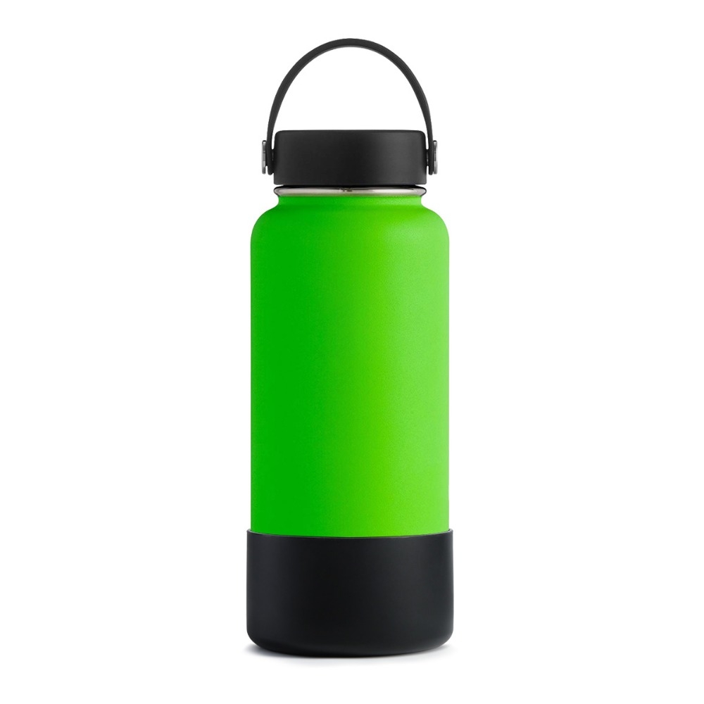 17 Oz Portable Travel Dog Water Bottle: Protective Silicone Sleeve 32oz/40oz Bottom Cover For