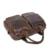 Homens Sacos Do Mensageiro Dos Homens de Couro de Luxo Bolsa Do Couro Genuíno Do Vintage Ombro Saco Crossbody Maleta Laptop saco dos homens Sacos de Viagem