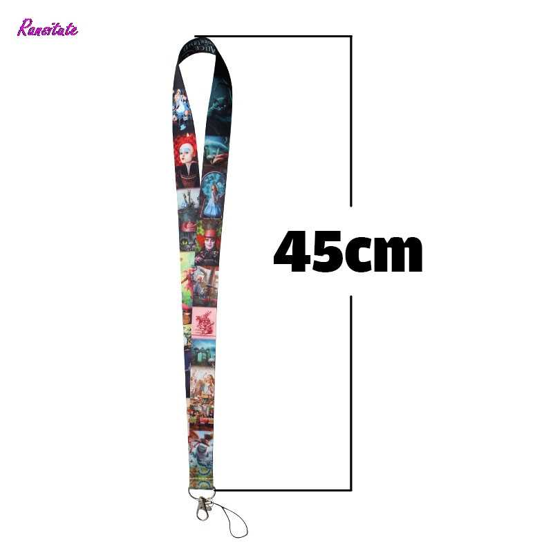 Ransitute Cute Lanyard for Key Phones USB Flash Movie Holders Neck Straps webbing