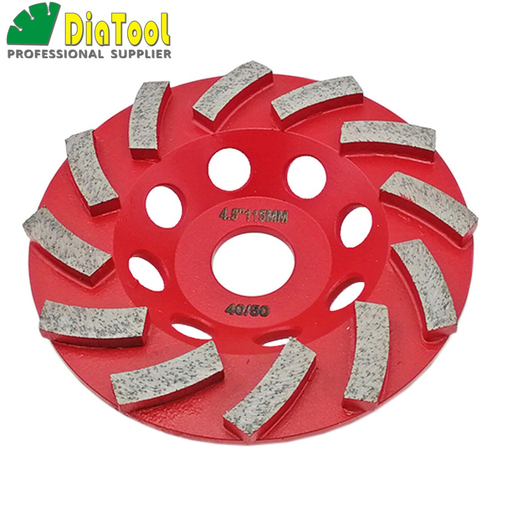 """Image 3 - DIATOOL Diamond Segmented Turbo Grinding Cup Wheel for Concrete and other construction material  4"""" 4.5"""" 5"""" 7"""" availablecup wheelgrinding cup wheelcup grinding wheel -"""