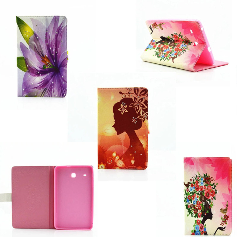 Lovely Cartoon Silicone Back pu Leather Stand Case Protective Cover For Samsung Galaxy Tab A A6 10.1 with S Pen P580 P585 P588