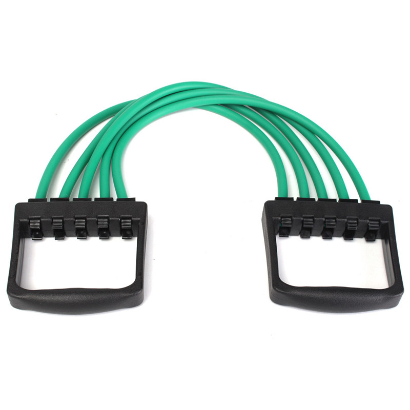 strong sports high gym chest item resistance physic in tube crossfit expander quality latex bands training from cable