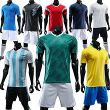 Quality Men s Football Jerseys 2018 Short Sleeve Soccer Jersey Suit  Breathable Sportswear Training Team Uniforms Kit dafc7d564