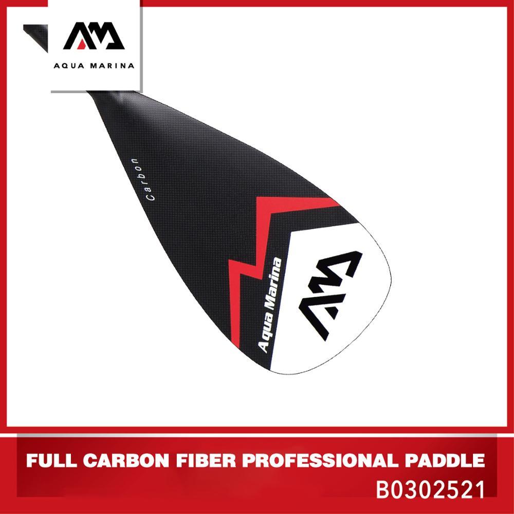 AQUA MARINA Carbon Fiber Professional Paddle SUP Surfing Board Paddle Surfing Professional Competition Surfboard Oar
