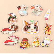 Flying Many Animal Repair Badge Patch Embroidered Patches For Clothing Iron On Close Shoes Bags Badges Embroidery DIY