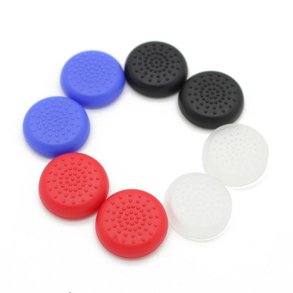 2pcs For PS4 for XBOX 360 Controller Rubber Silicone Cap Thumbstick Analog Cover Case Skin Joystick Grip Thumb Stick стоимость
