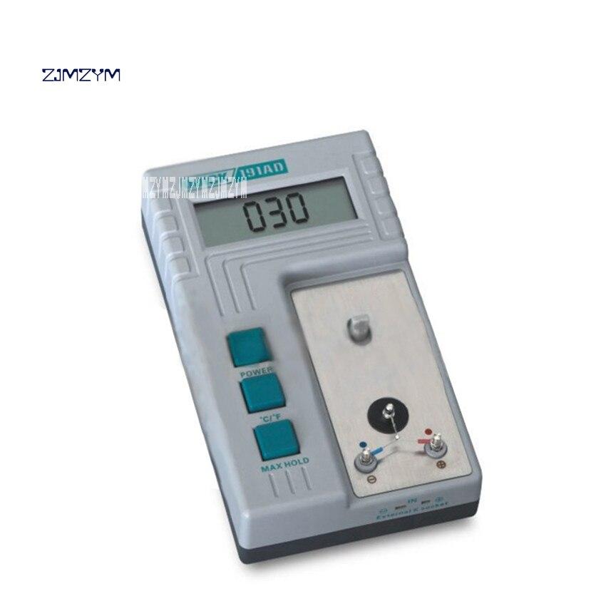 New 191AD Soldering Iron Temperature Tester Tip Temperature Calibrator Adjustable Calibrated LCD Temperature Tester 9V 1-240min 1pcs 9v lcd digital display thermometers for soldering iron tip temperature line