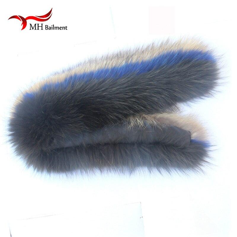 Իրական ռակկուն մորթյա օձիք ձմեռային - Հագուստի պարագաներ - Լուսանկար 5