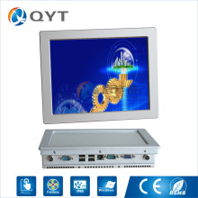 Silver aluminum shel PC Inter N2800 1.86GHz 10″ industrial tablet pc rj45 2GB RAM 32G SSD 2RS232 4USB