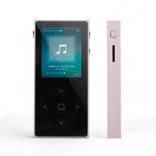 Новый Бенджи x1 MP3-плееры Сенсорный экран FM Радио запись книги Lossless музыка ape flac цифровой аудиоплеер 8 ГБ 100 час воспроизведение