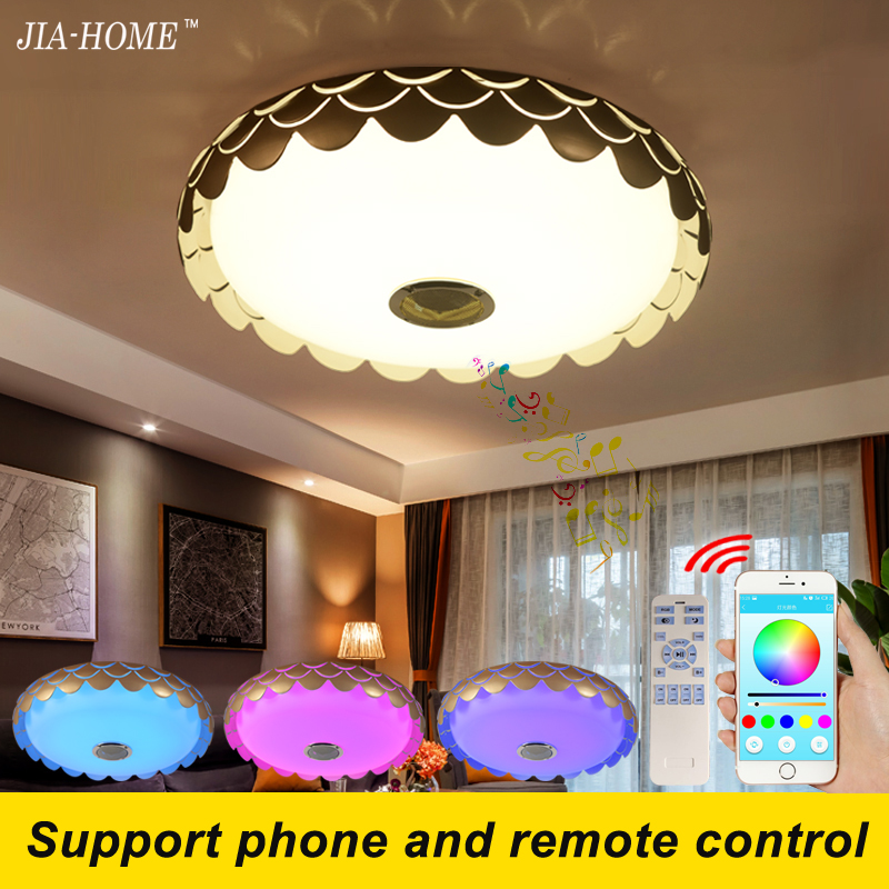 children led lamp for ceiling with Bluetooth speaker or remote control dome 36W commercial ceiling light fixtures keyshare dual bulb night vision led light kit for remote control drones