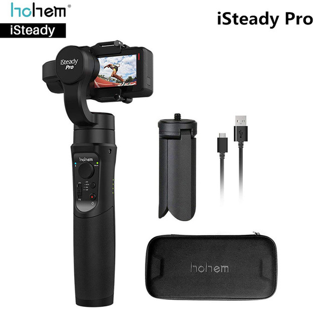 3-axis Handheld Gimbal Stabilizer for GoPro and Cell Phones