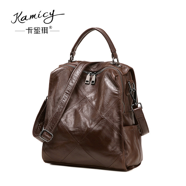 68db3b97d7c0 Kamicy qiu dong hot sell new fashion vintage style retro double shoulder  bag han version of a multi-functional one-shoulder bag