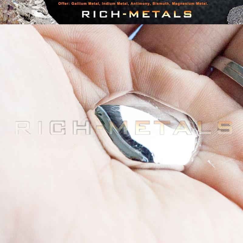50 грамм 99.99% чистый металл галлия