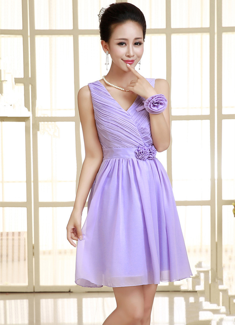 Moderno Vestido De La Dama De Dos Tonos Inspiración - Ideas de ...