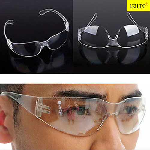 Clear Lab Anti Fog Dust Smoke Eye Protective Glasses Goggles Vented Safety