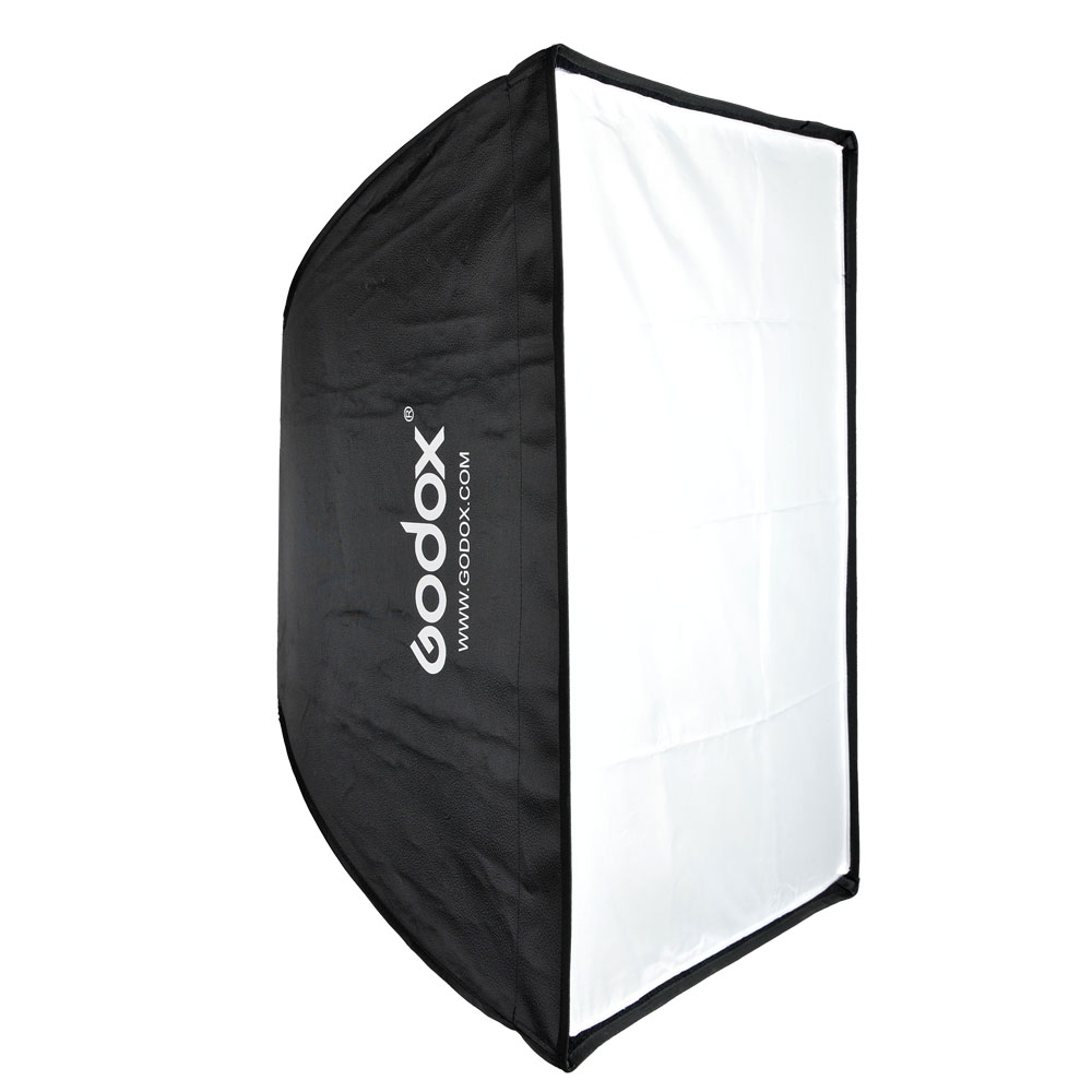 Original Godox 50 * 70cm / 20 * 27.6 Portable Reflector Umbrella Studio softcase Softbox for Speedlight Flash Lights