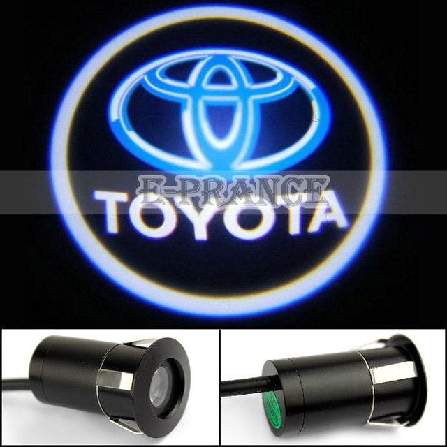 Brand New The 5th Generation Led Laser Car Welcome Light 5W Car logo door shadow light Free Shipping
