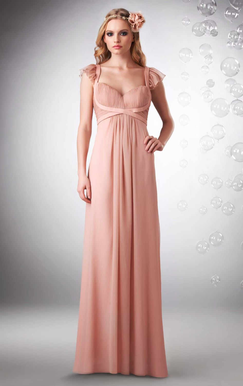 Elegant Latest Design Pink Maternity Bridesmaid Dress Patterns For Pregnant Women With Sleeves In Dresses From Weddings Events