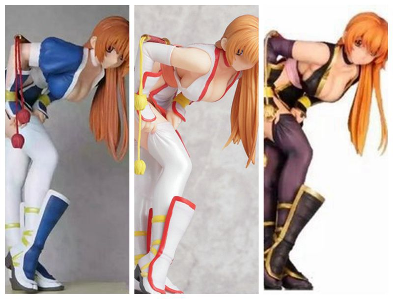 3Color Anime Action Figure DOA Dead or Alive Kasumi Variant C2 Ver Sexy Girl PVC 1/6 Scale Model Collection Doll Brand New 21cm летняя шина pirelli p zero rosso asimmetrico 255 40 r18 95y n0